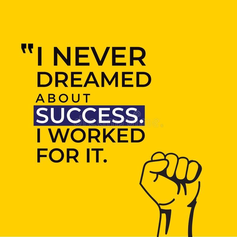 Creative Inspiring Motivation Quote Vector modern yellow background. Creative Inspiring Motivation Quote Vector cute design vector illustration