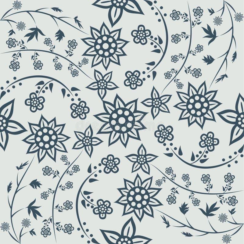 Javanese Batik Pattern Stock Illustration. Illustration Of