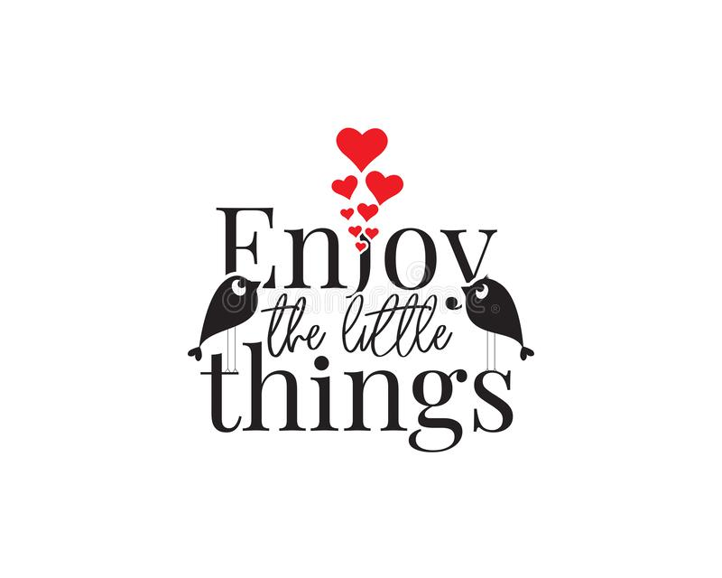 Enjoy The Little Things Motivational Wall Art