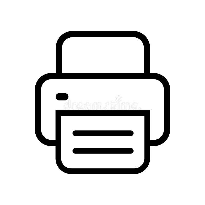 printer icon vector fax web icon vector design stock vector illustration of document element 164210209 printer icon vector fax web icon