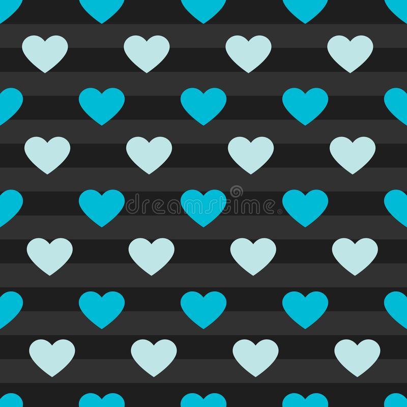Vector heart pattern background royalty free stock images