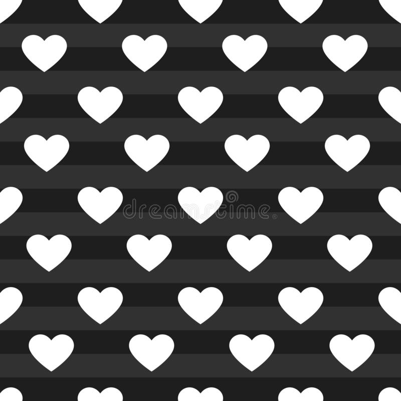 Vector heart pattern background stock photo