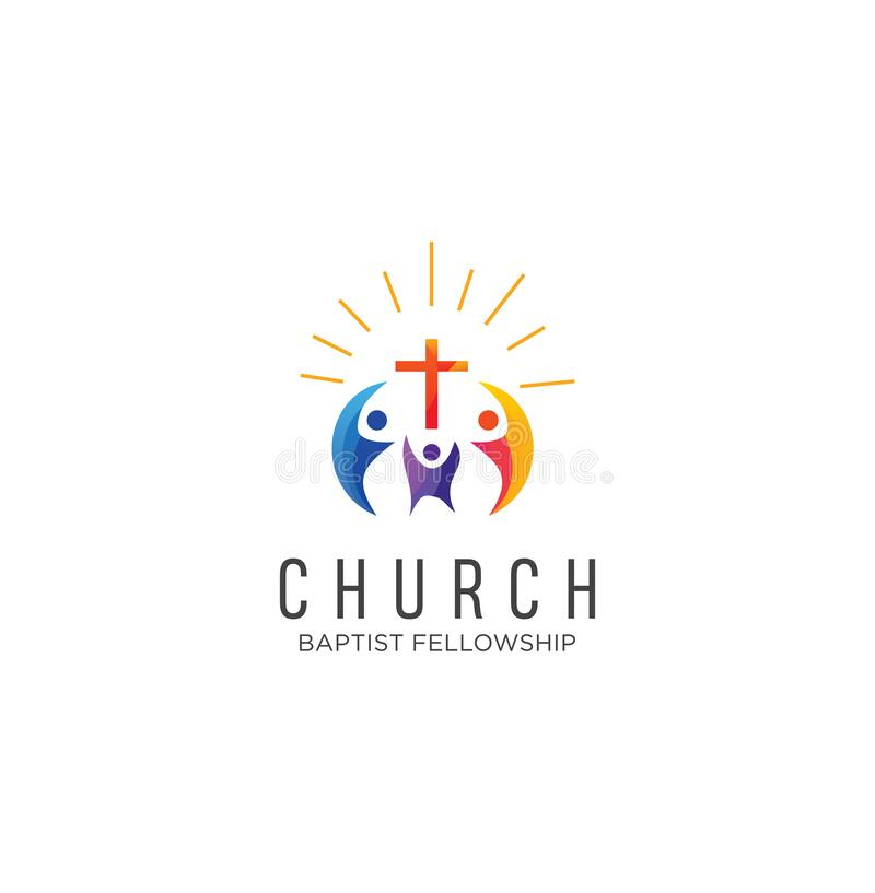 Community Church Logo Design Inspiration Vector Family Church Logo Icon On White Background Stock Vector Church Colorful Logo Stock Illustration Illustration Of Faith Encouraging 173844254