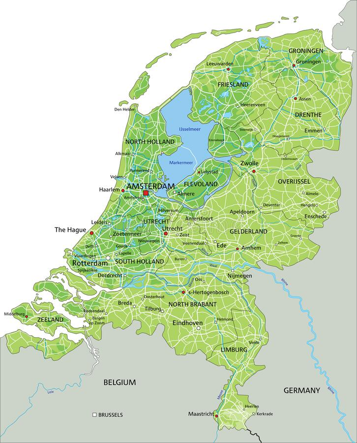 Germany Netherlands Map Stock Illustrations 1 816 Germany Netherlands Map Stock Illustrations Vectors Clipart Dreamstime