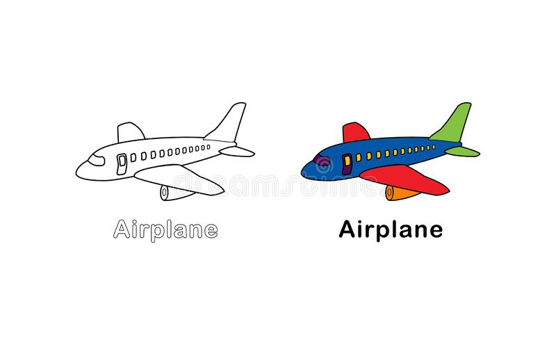 Airplane Colors Stock Illustrations 4 544 Airplane Colors Stock Illustrations Vectors Clipart Dreamstime