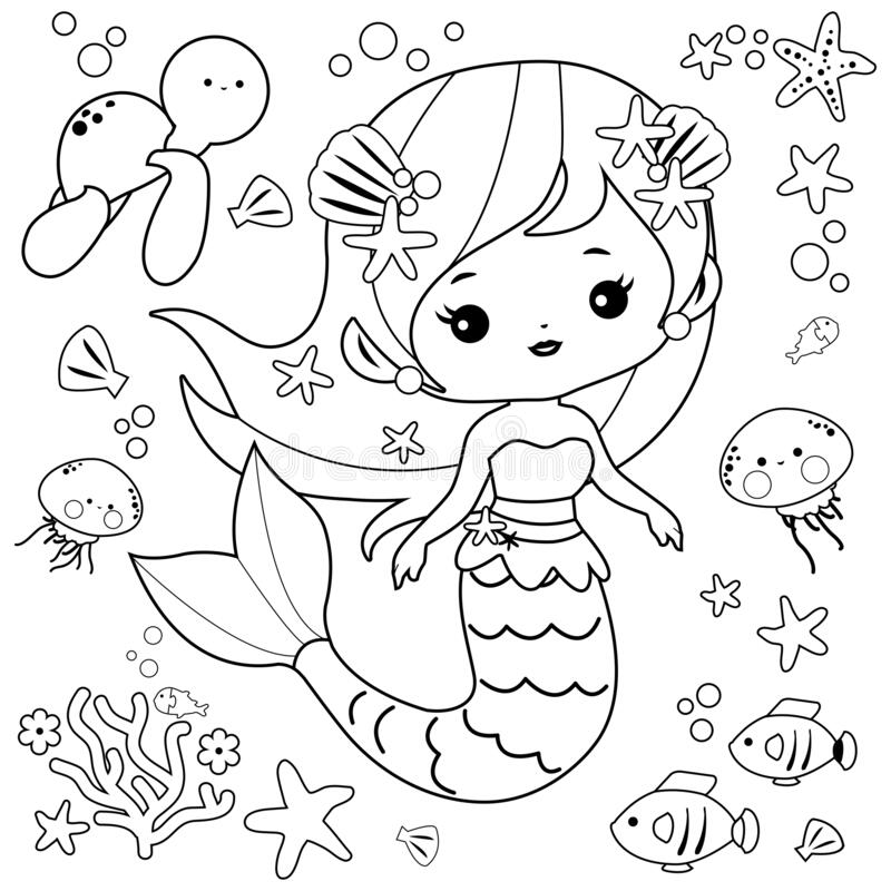 Coloring Sea Animals Stock Illustrations – 1,669 Coloring Sea Animals Stock  Illustrations, Vectors & Clipart - Dreamstime