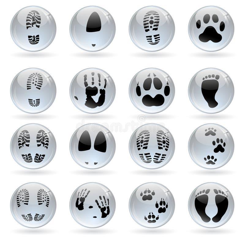 Print Glossy Balls Stock Photos