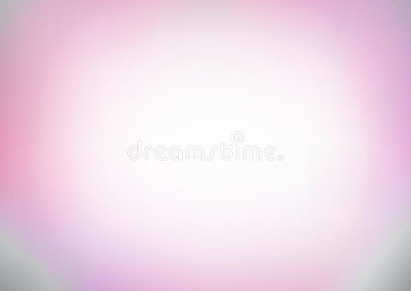 Light gradient grey pink soft color background vector illustration