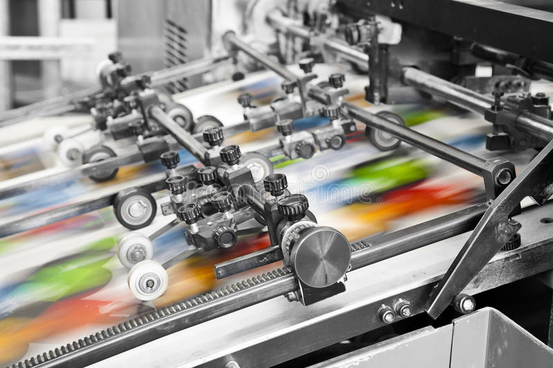 Download Print Machine Stock Photography - Image: 31438912