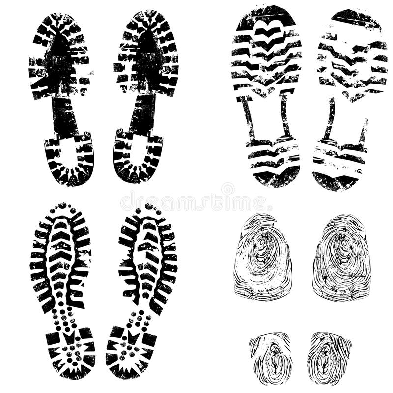 Free Print Of Foot Shoe Of Child Royalty Free Stock Images - 24481959