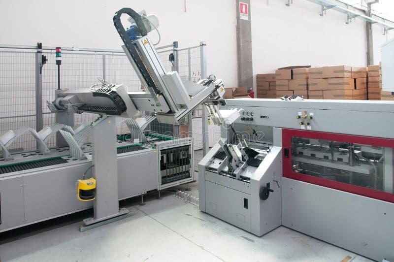Download Print Shop (press Printing) - Finishing Line Stock Photography - Image: 20423632