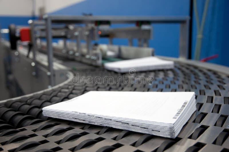 Download Print Shop (press Printing) - Finishing Line Stock Photo - Image of brochure, chain: 23923758