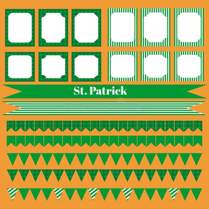 Download Printable Set świętego Patrick Przyjęcia Elementy Ilustracji - Ilustracja złożonej z tło, dzień: 65226305