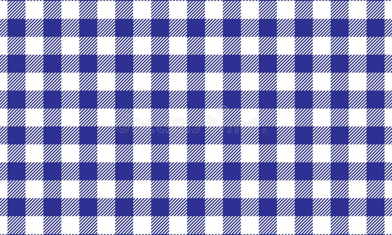 PrintBlue gingham pattern.Tablecloth for plaid and textile articles,vector illustration. Blue gingham pattern.Tablecloth for plaid and textile articles,vector stock illustration