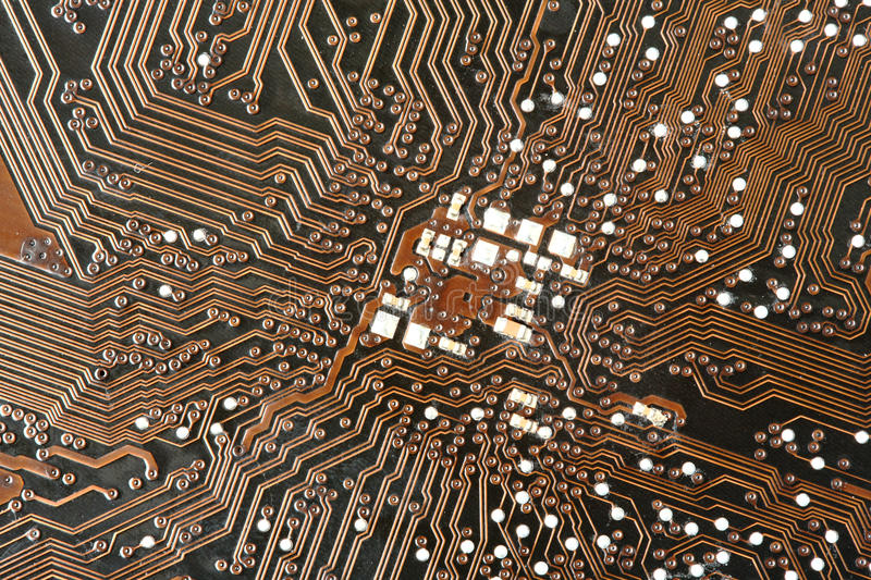 Download Printed circuit stock photo. Image of basic, cable, electronic - 28055402