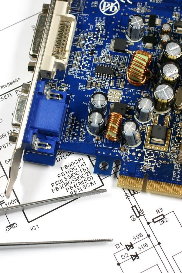 Printed Circuit Board Royalty Free Stock Photo
