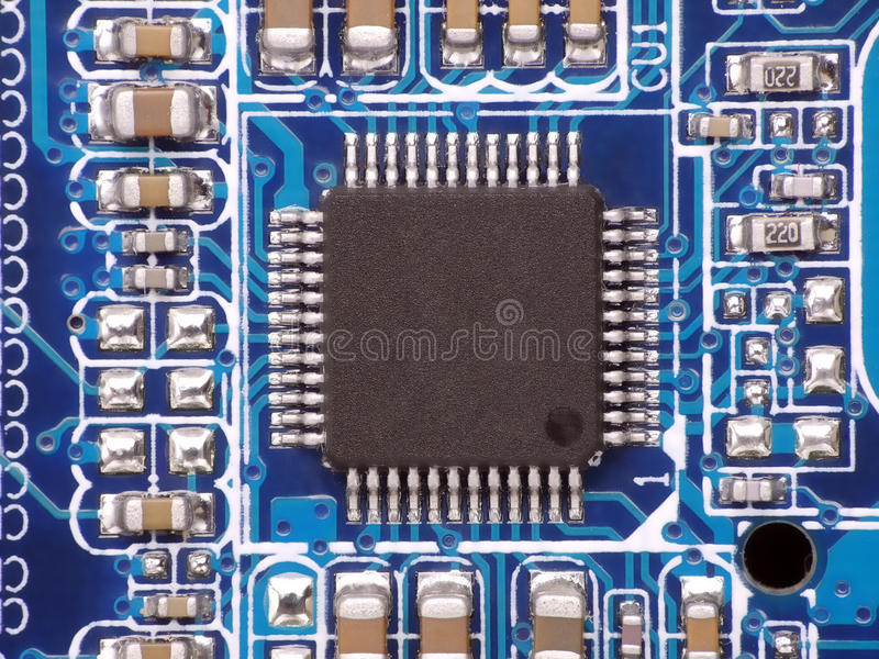 Download Printed circuit board stock image. Image of electrical - 18727349