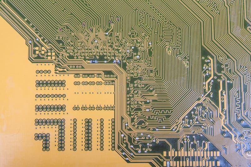Printed-circuit board royalty free illustration