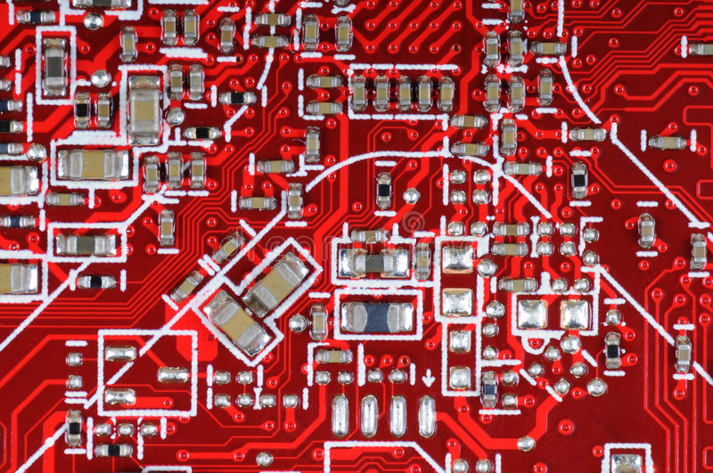 Download Printed circuit board stock image. Image of electronics - 8171053