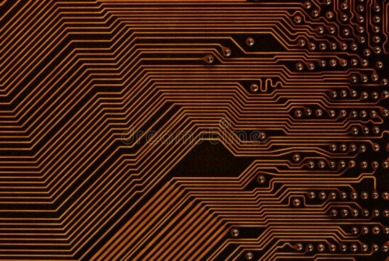Printed-circuit raad royalty-vrije stock foto