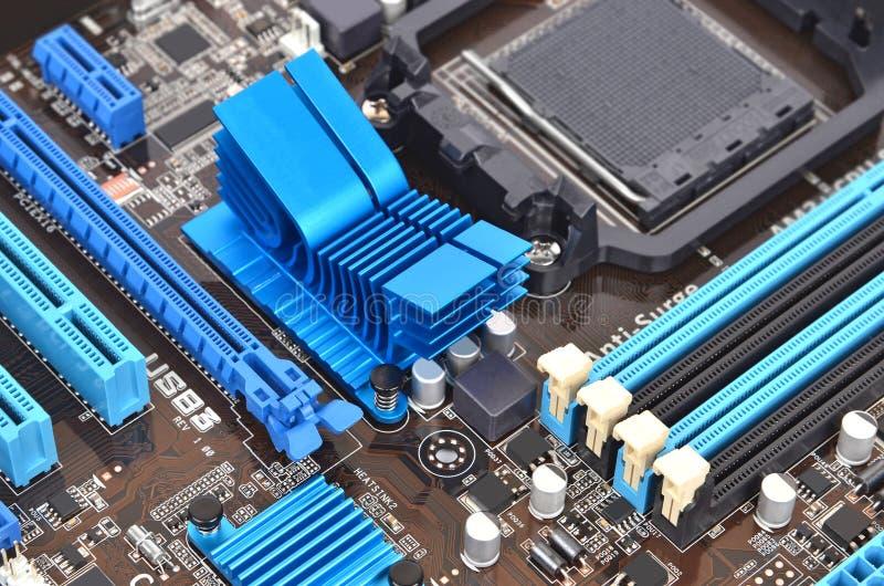 Download Computer motherboard stock photo. Image of megabyte, gigabyte - 30306674