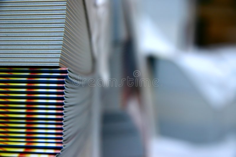 Download Printed magazines stock image. Image of bind, copy, newspapers - 388549