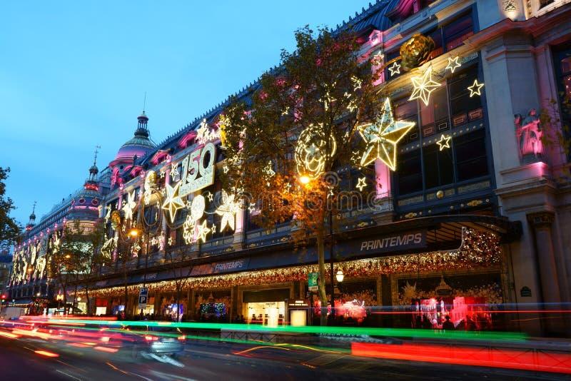Printemps París diciembre de 2015 fotos de archivo libres de regalías