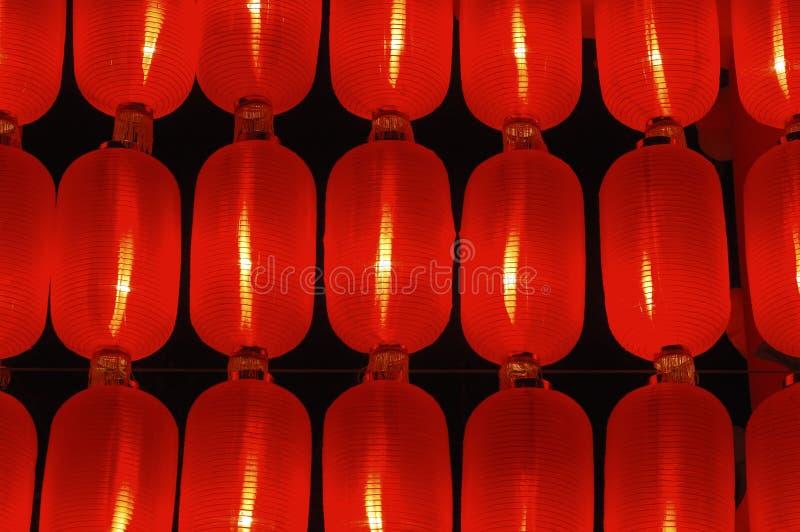 printemps rouge de lanterne de festival photos libres de droits