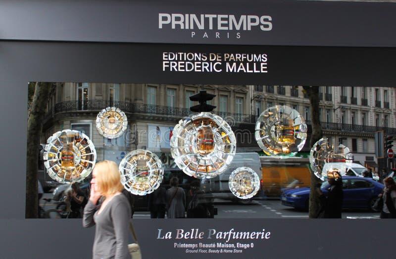 Printemps Stores In Paris Editorial Stock Image