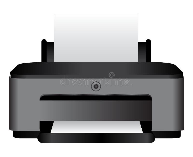 printer vector illustratie