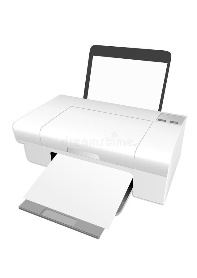 Printer royalty-vrije illustratie