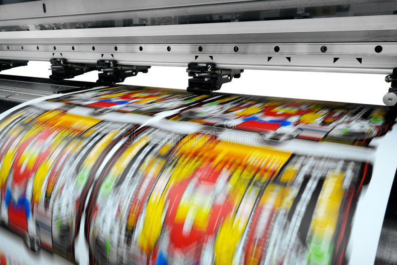 printer royalty-vrije stock afbeelding