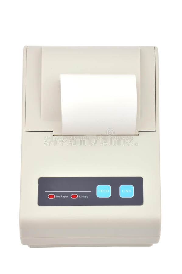 Download Printer For Fiscal Cash Register Stock Photo - Image: 25185458