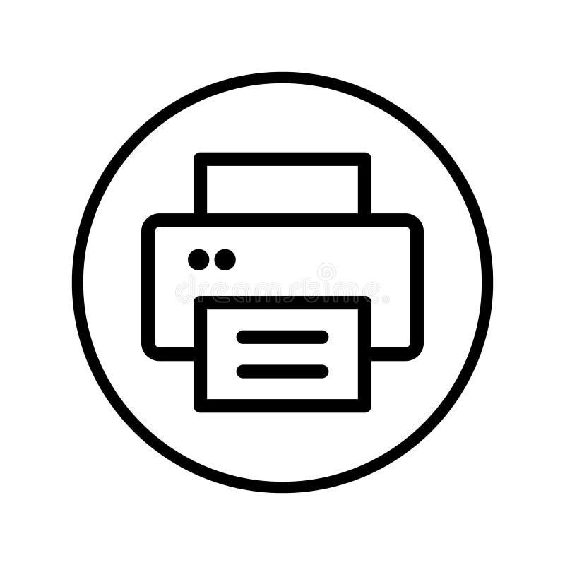 printer icon vector office equipment illustration symbol fax logo stock illustration illustration of flat office 154413834 printer icon vector office equipment