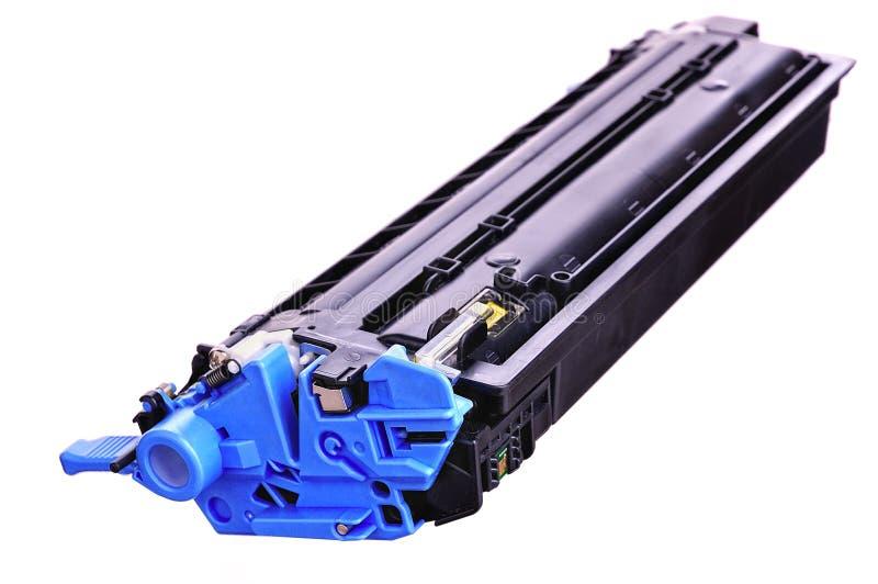 Printer toner cartridges. Laser Printer toner cartridges on a light background royalty free stock image