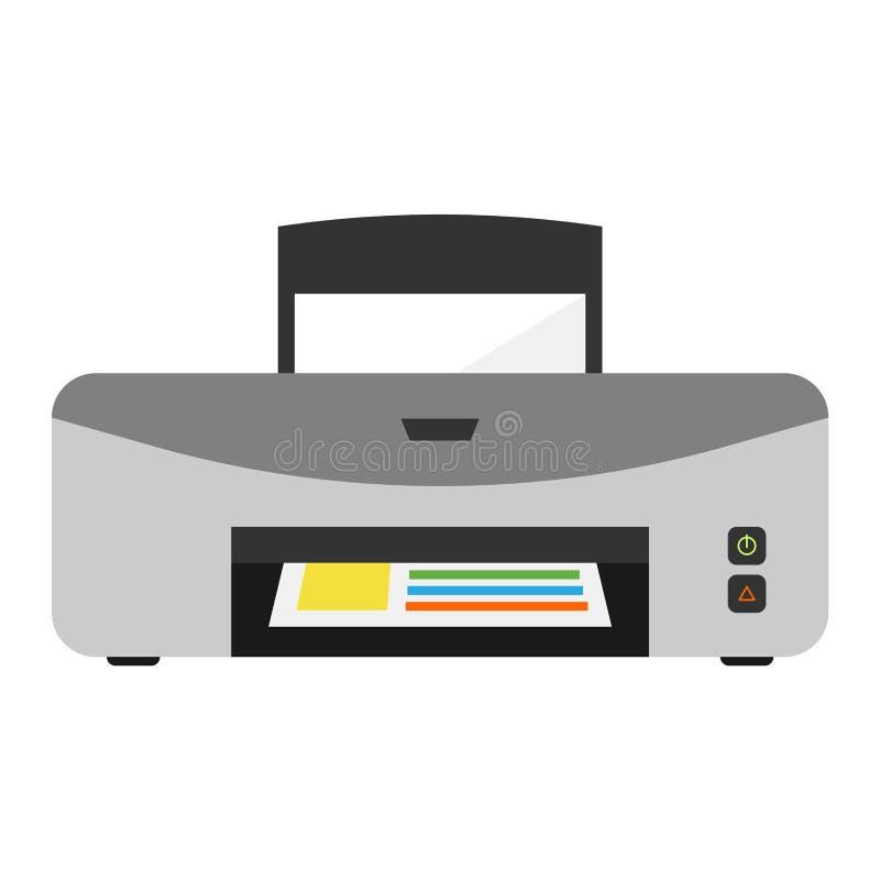 Printer vector illustration. stock illustration