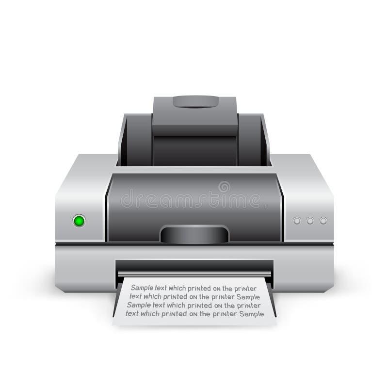 Printerpictogram stock illustratie