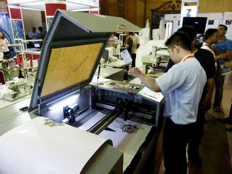 printers stock afbeelding