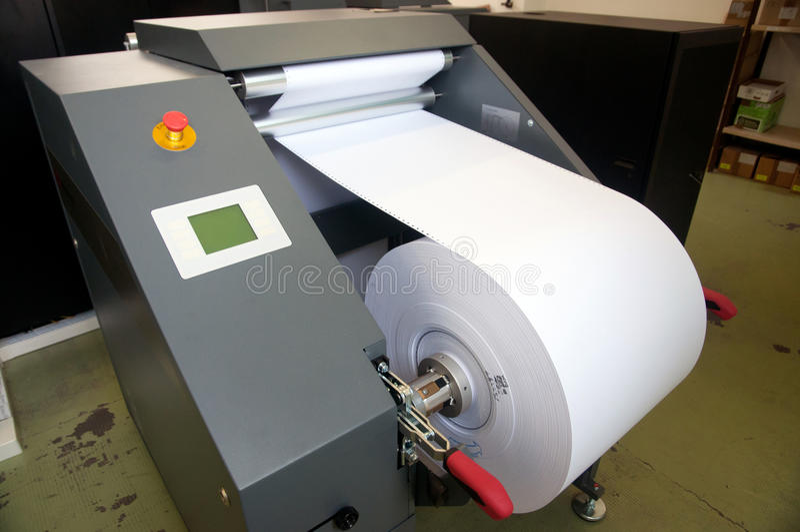 printing för press för digital maskin för detalj royaltyfri foto