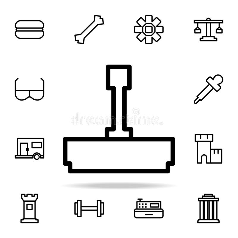 printing icon. web icons universal set for web and mobile stock illustration