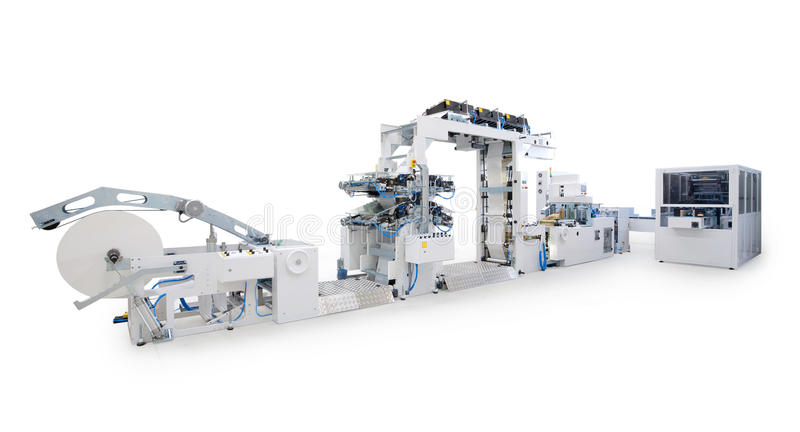 Download Printing machine stock photo. Image of printing, manufacturing - 24351328