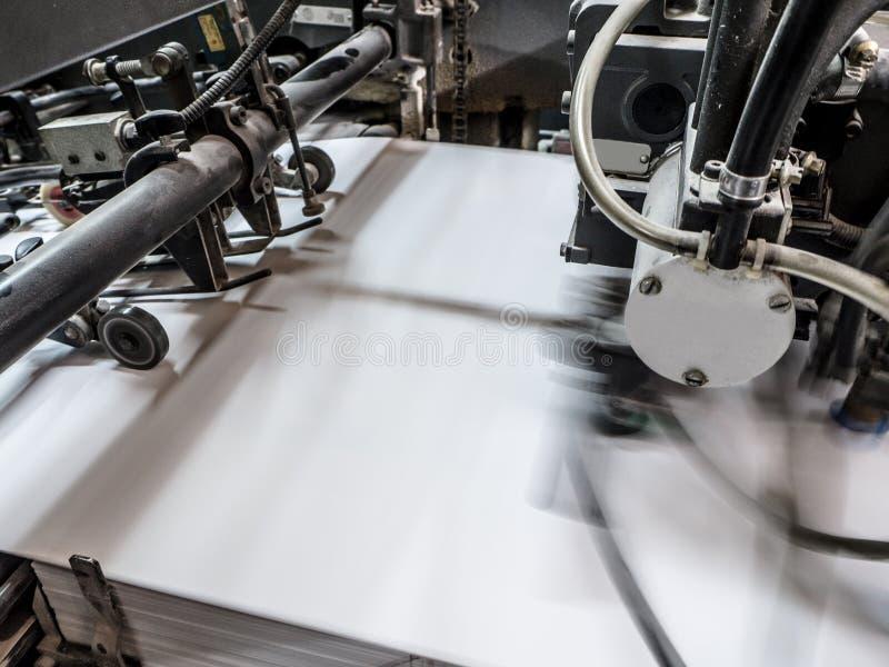 Download Printing Press Machine Stock Photo Image Of Blue Printer