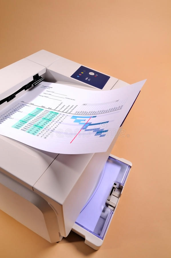 Printing printer royalty free stock images