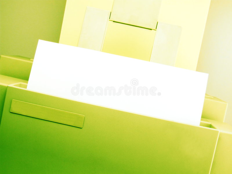 Download Printing in Progress stock image. Image of page, print - 3194263