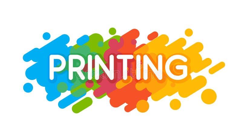 Printing Studio Logo vector illustration
