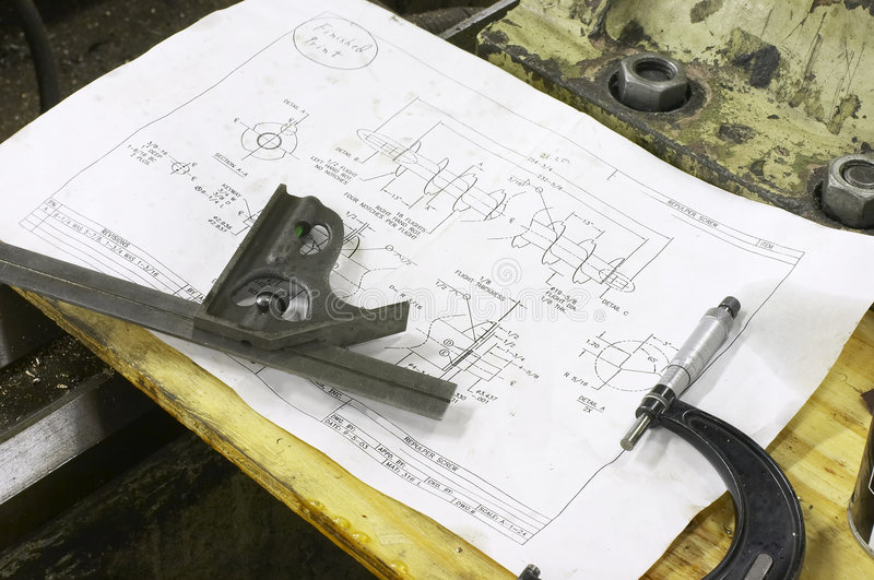 Download Prints stock photo. Image of repair, measurements, specification - 1708392