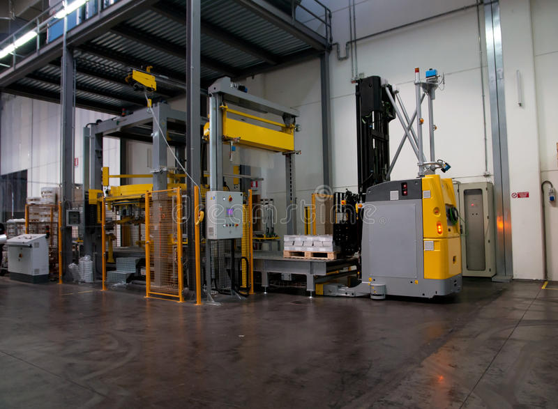 Download Printshop: Automated Warehouse (for Paper) Stock Photo - Image: 26857466