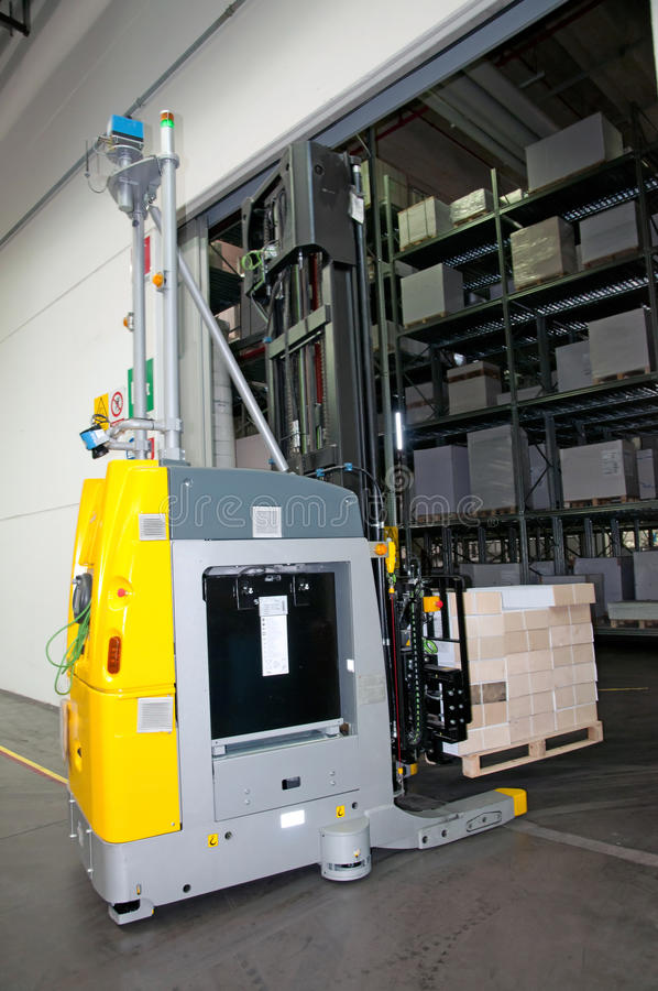 Download Printshop: Automated Warehouse (for Paper) Stock Photo - Image: 26857540
