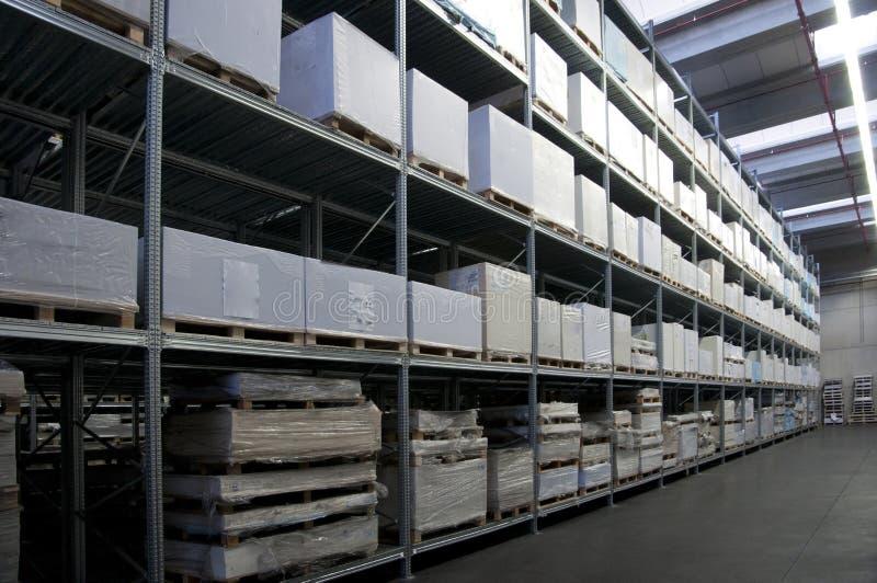 Printshop: document pakhuis royalty-vrije stock foto's