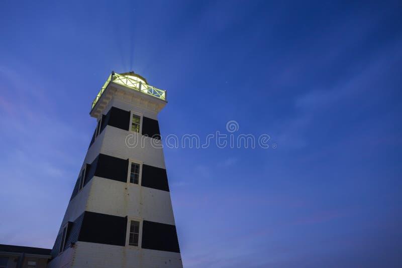 Prinz Edward Island West Point-Lighthouseon lizenzfreie stockfotografie